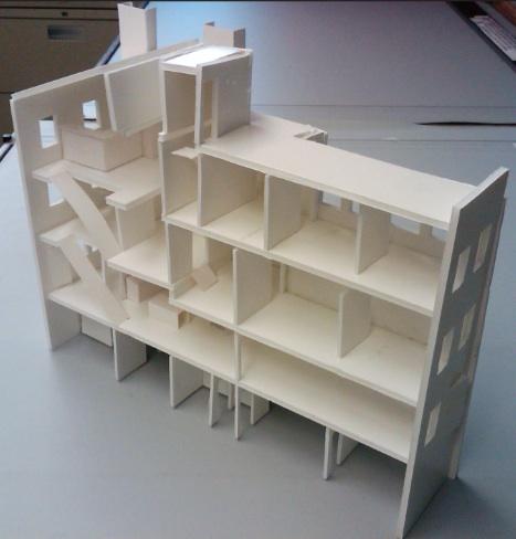 "1/16"" building model"