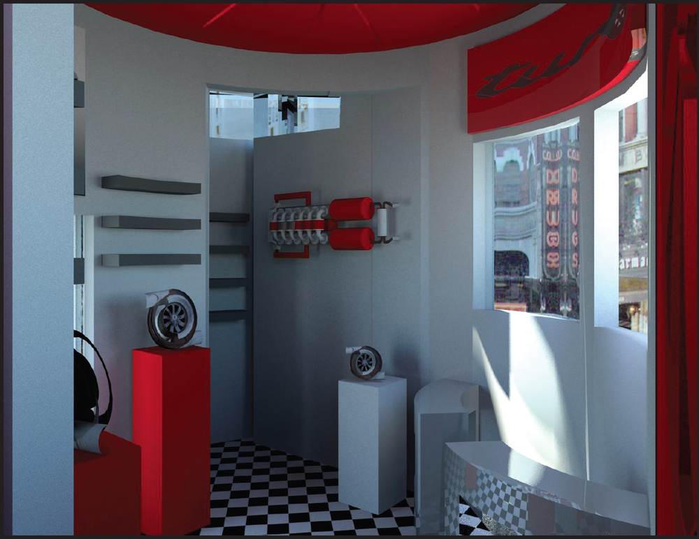 turbo shop rendering