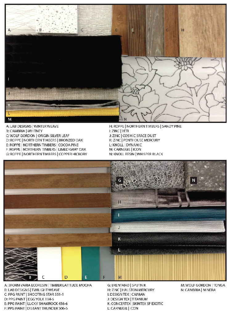 textiles & finishes