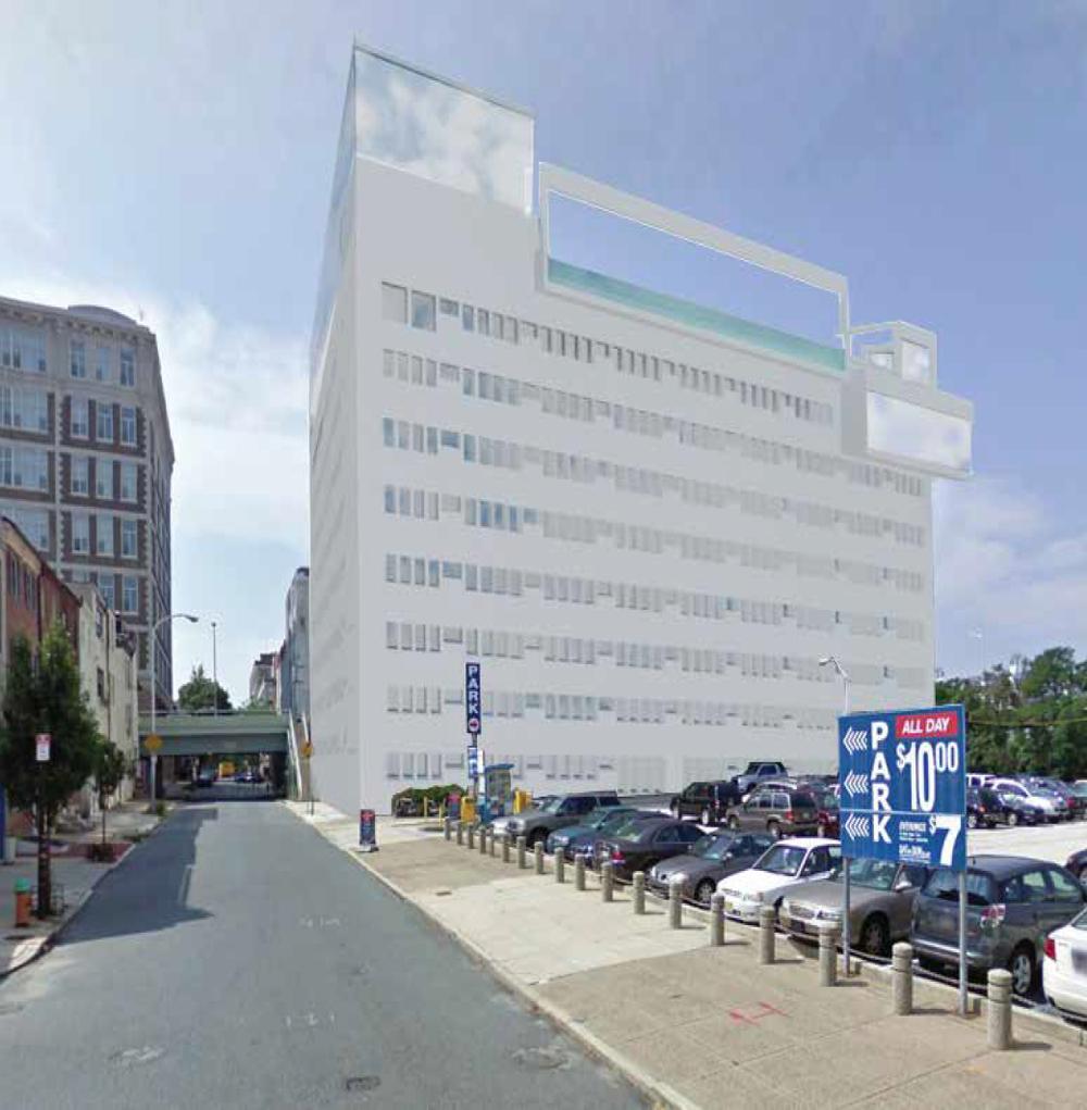 exterior building rendering III