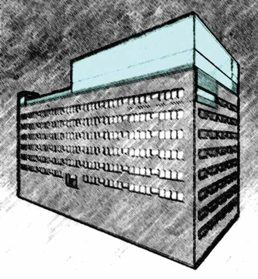exterior building sketch II
