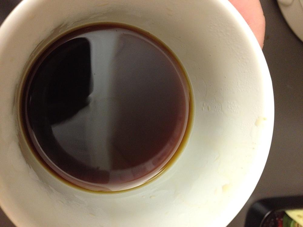 Crisp, pure coffee.