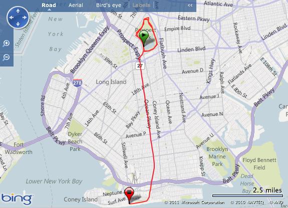 The Brooklyn Half Marathon: the anatomy of a car crash