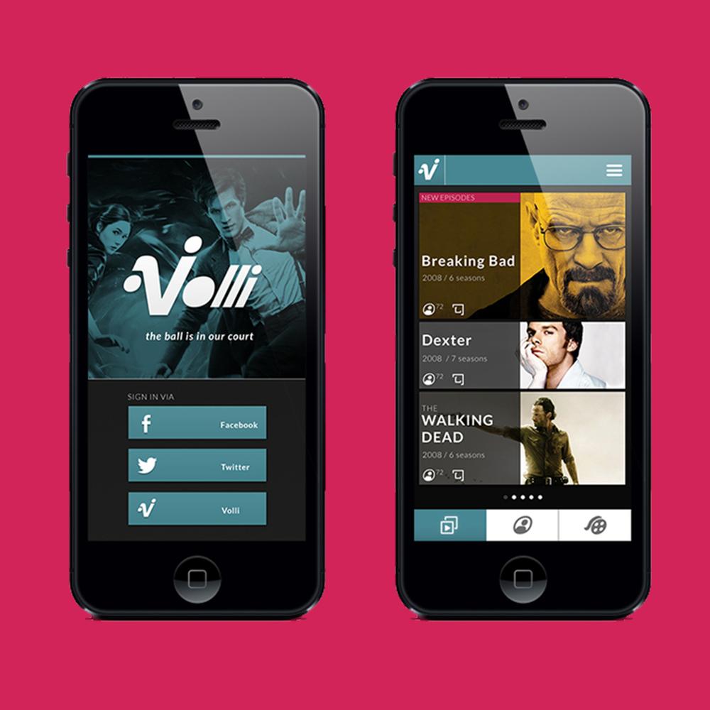 VOLLI UI/UX DESIGN
