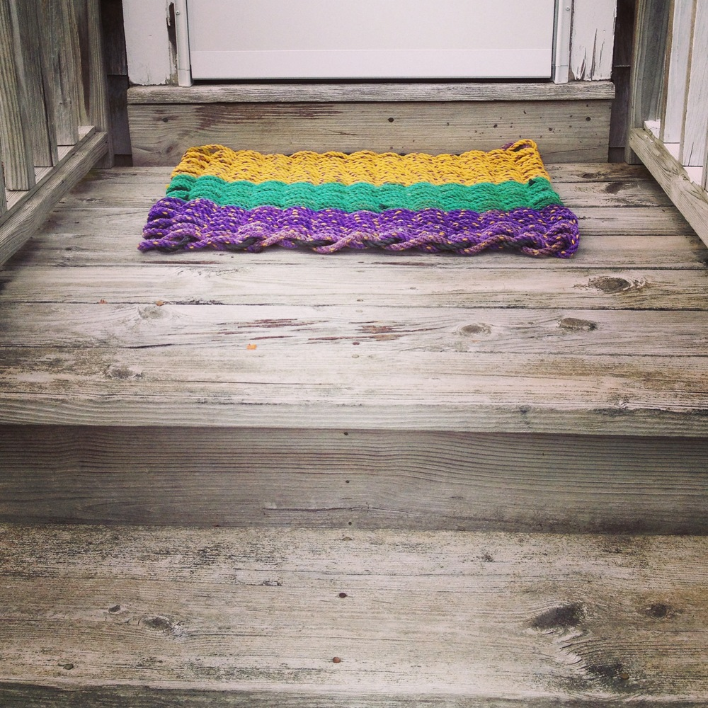 Recycled Lobster Rope Doormat