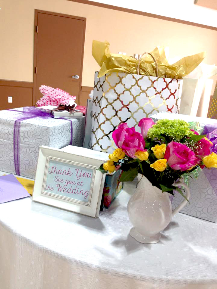 Thanking your guests for attending your special event is a must.