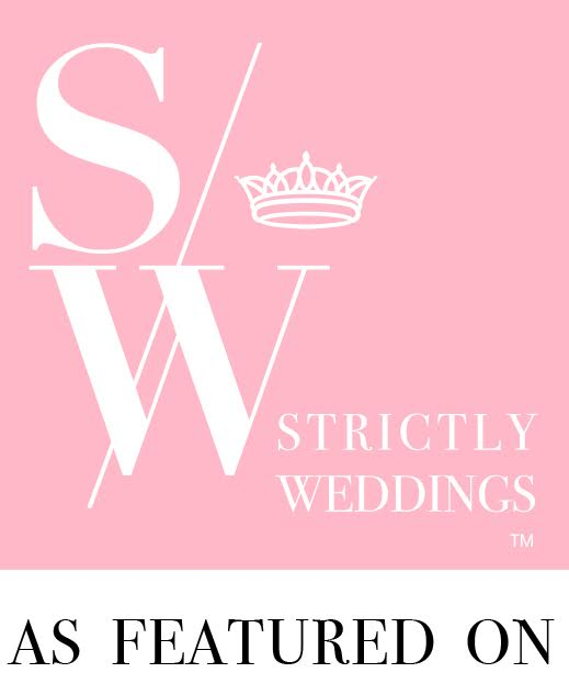 As Featured On Strictly Weddings