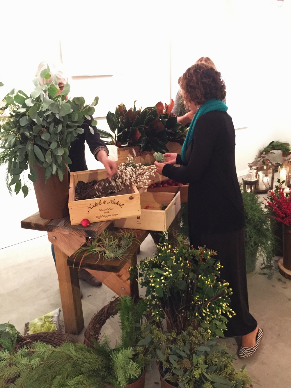 Wreath Workshop at The Shed