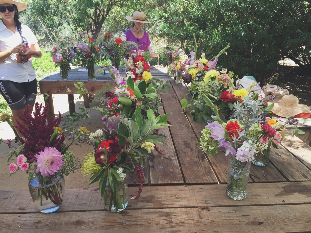 Christa Rose Forage & Arrange Workshop