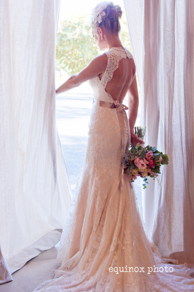 San Diego Ranch Wedding Bride
