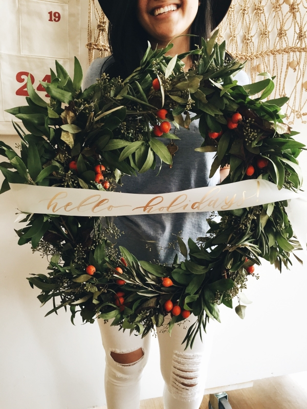 Christa Rose Wreath Workshop