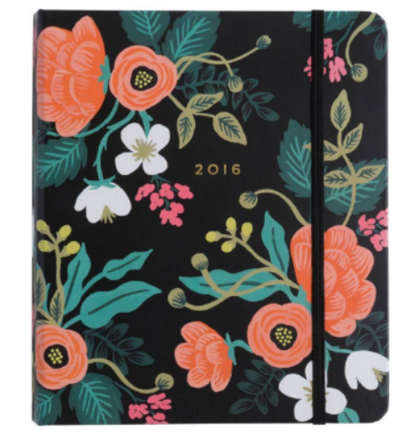 2016 Birch Floral 17-month Planner - Rifle Paper Co.  $27.20