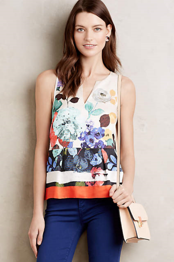 Elsie Tank - Anthropologie  $128.00