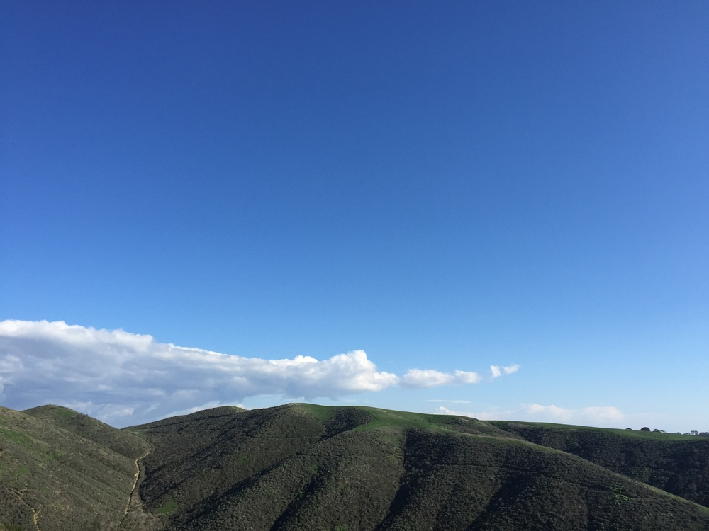 San Juan Capistrano Hills in the Spring Time