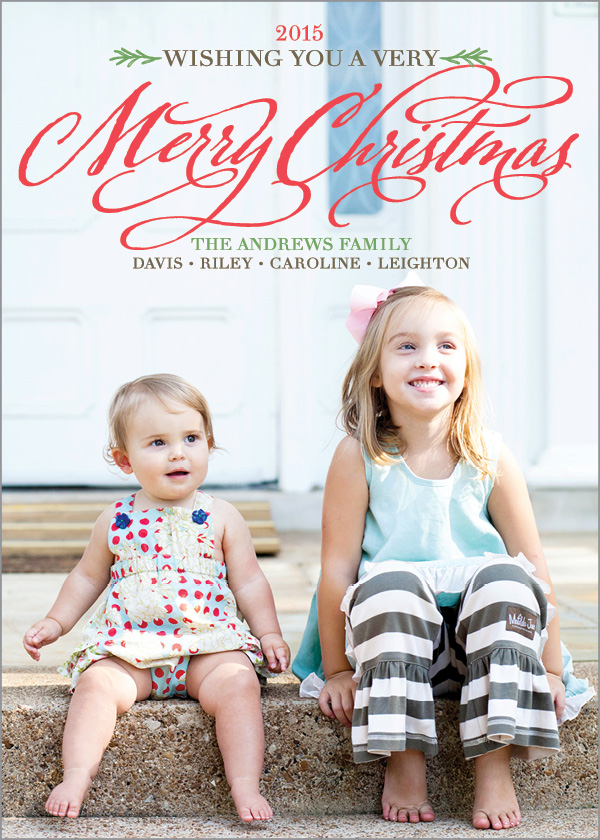 A7 Caroline & Leighton Full Photo Merry Christmas