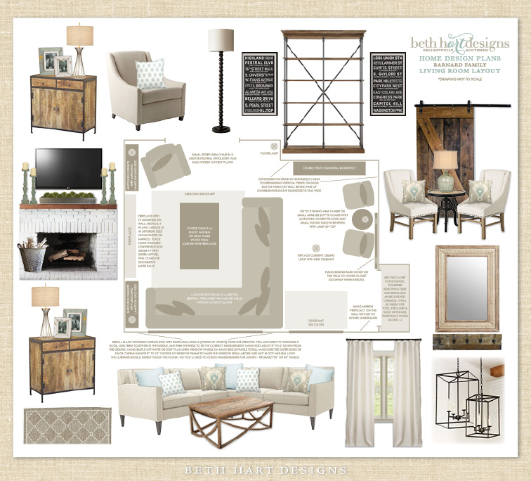 Virtual E-Design Services — Beth Hart Designs