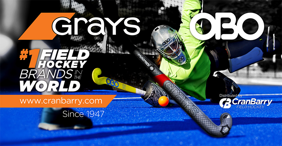 Fieldhockey stick ad