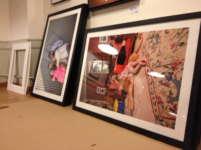 Final photos framed and gorgeously printed and looking marvelous...ready for Jamspot!