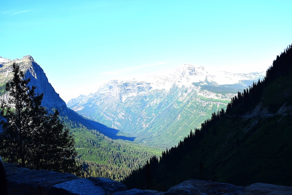 Itinerant Blog: Going to the Sun Road, Glacier National Park, Montana