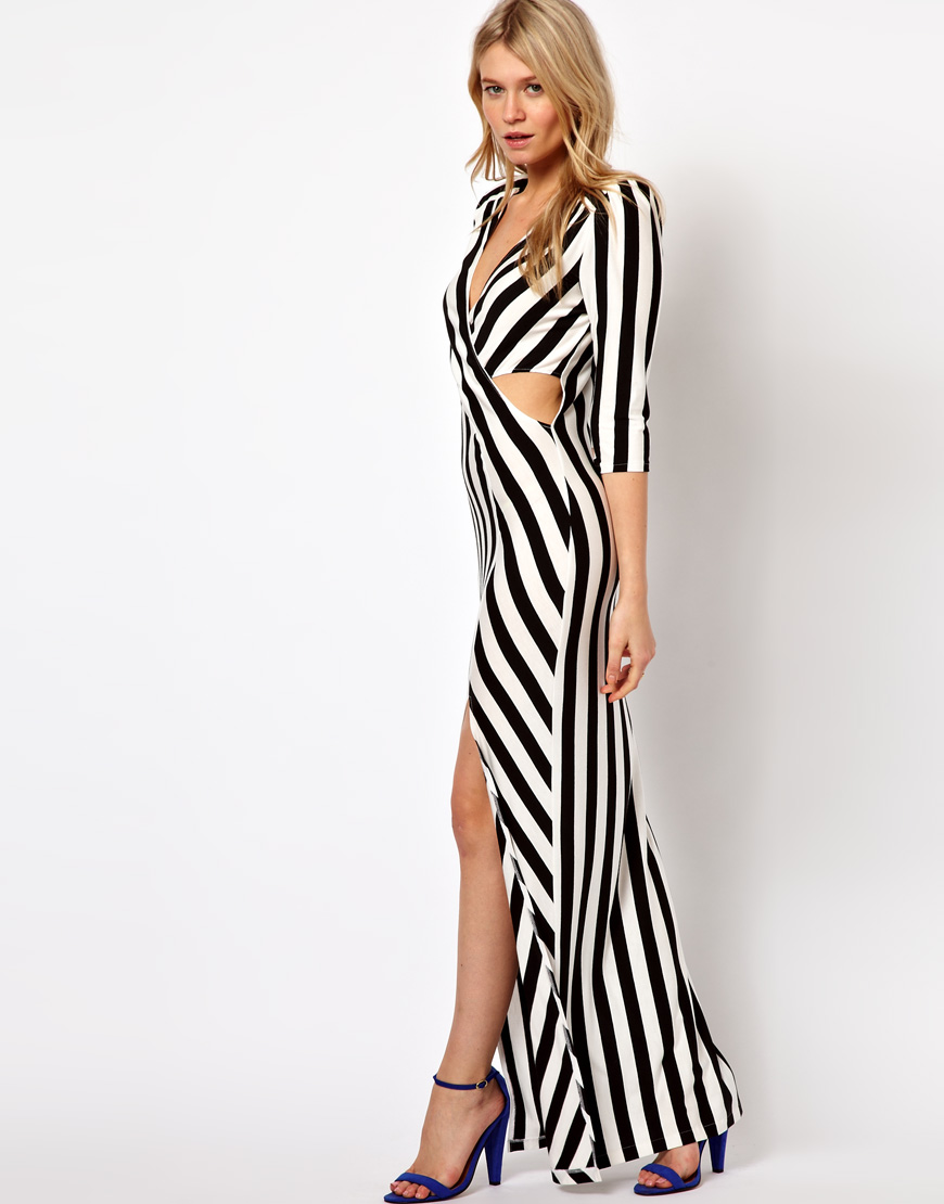 Love Stripe Maxi Dress ($60 ASOS)