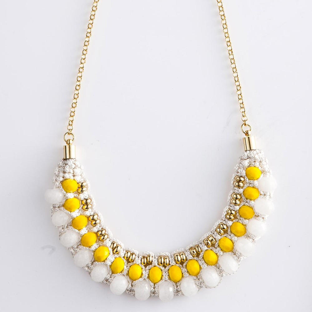 Dahlia Necklace ($117)