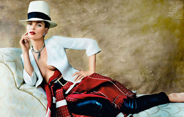 Source: Kate Moss for Vogue Paris