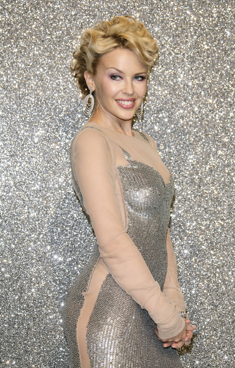 Celebrity, Kylie Minogue, wearing ETERNAME