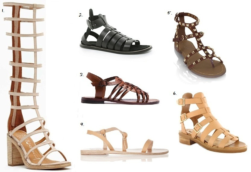GLADIATOR: Summer Sandals inspired by Ancient Rome — Net ...
