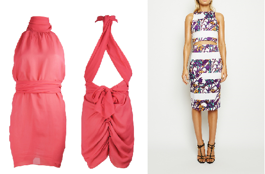 A. Little Joe Woman Steam City Dress ($449AUD)  B. Maurie & Eve Forever Midi Dress ($179AUD)