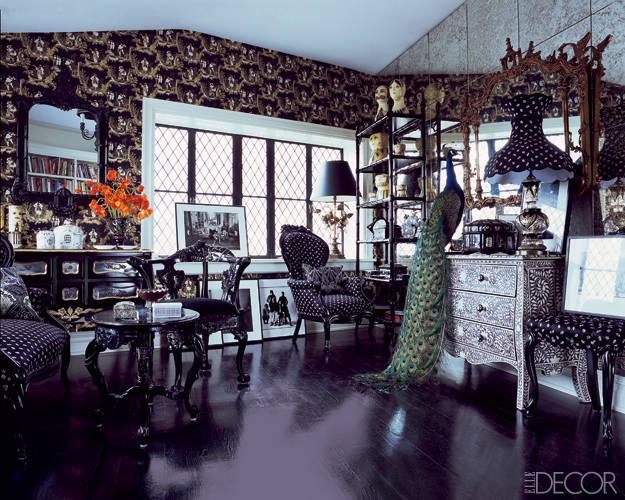 Designer Anna Sui's Apartment (Image: elledecor.com)