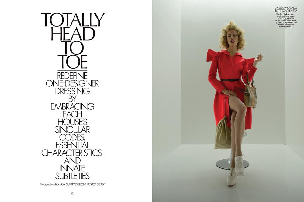 Editorial:  Totally Head to Toe