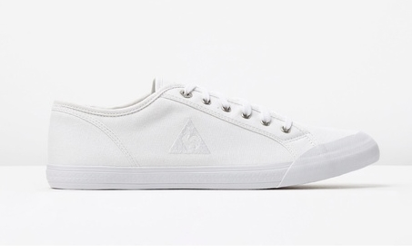 20. WHITE CANVAS SHOES