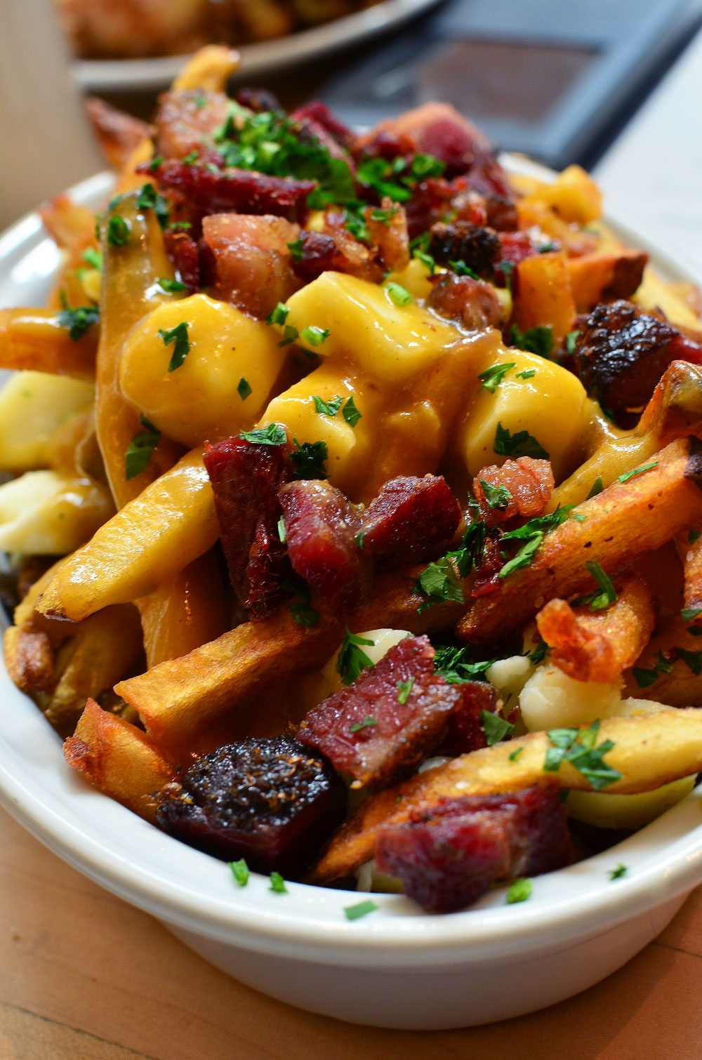 Poutine. Pastrami  and fries.