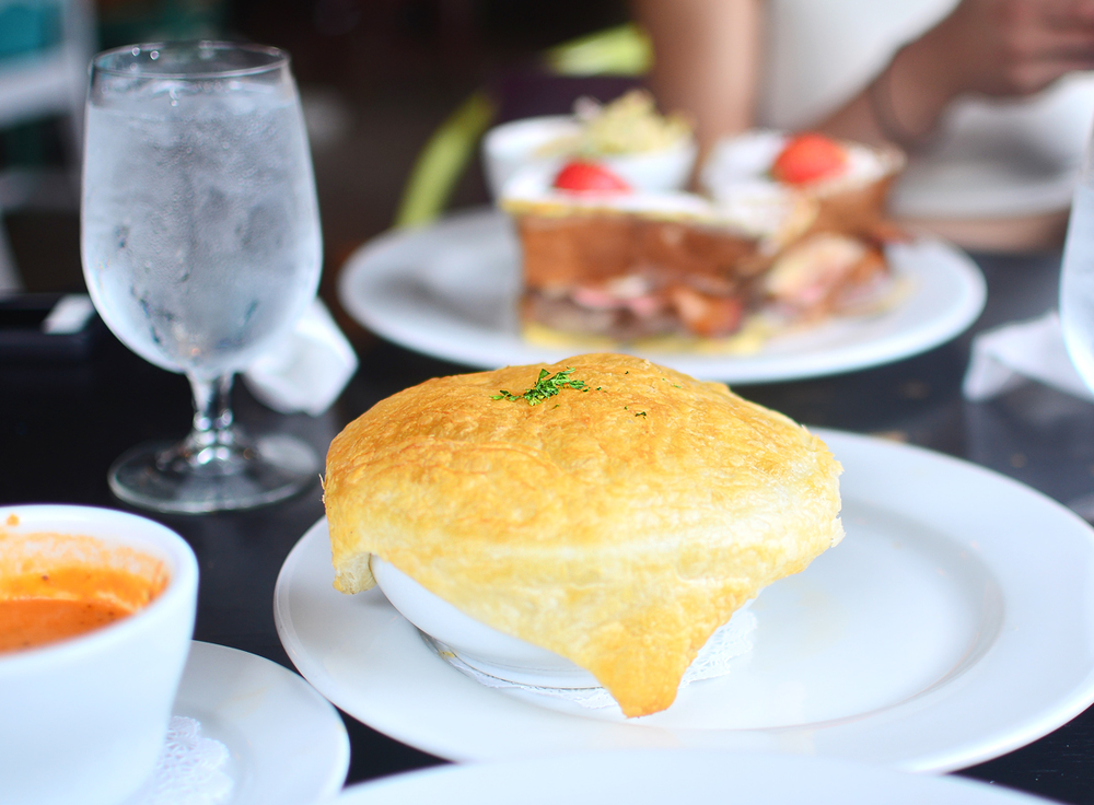 The Chicken Pot Pie at Soho South