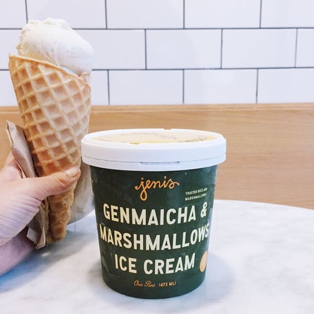 Ice cream might just be a perfect way to end the week.