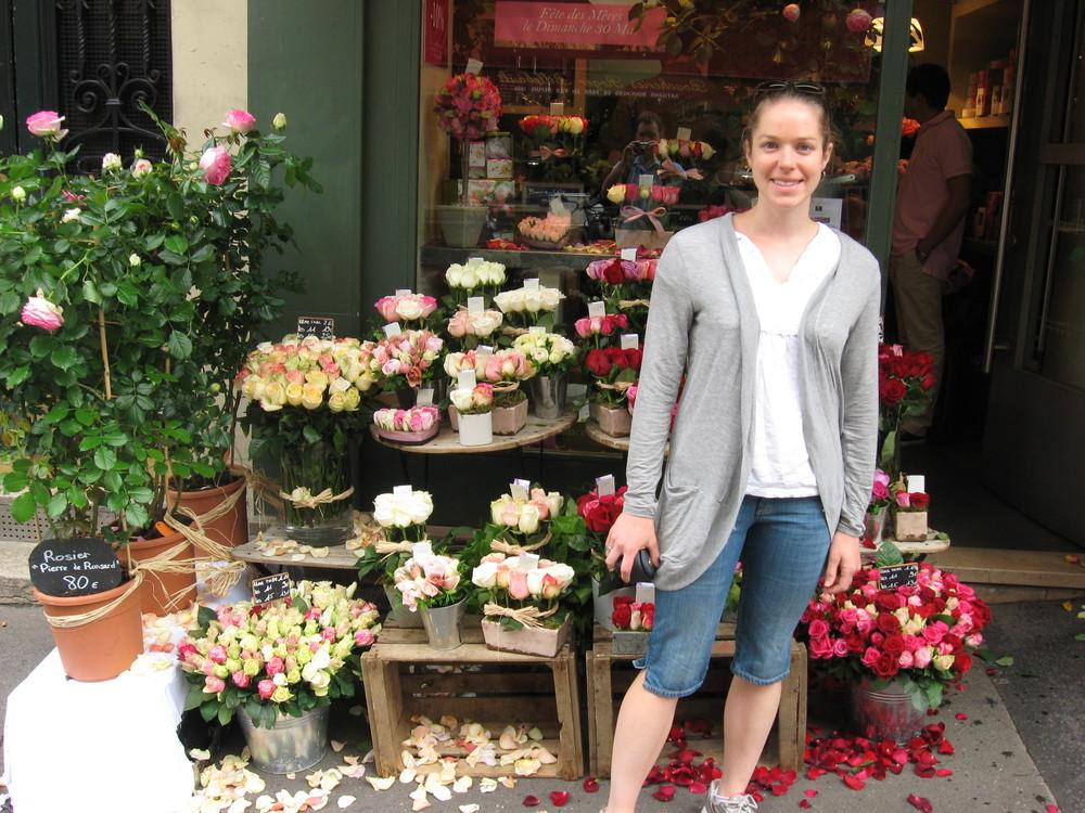 Flower Shop in Montmarte