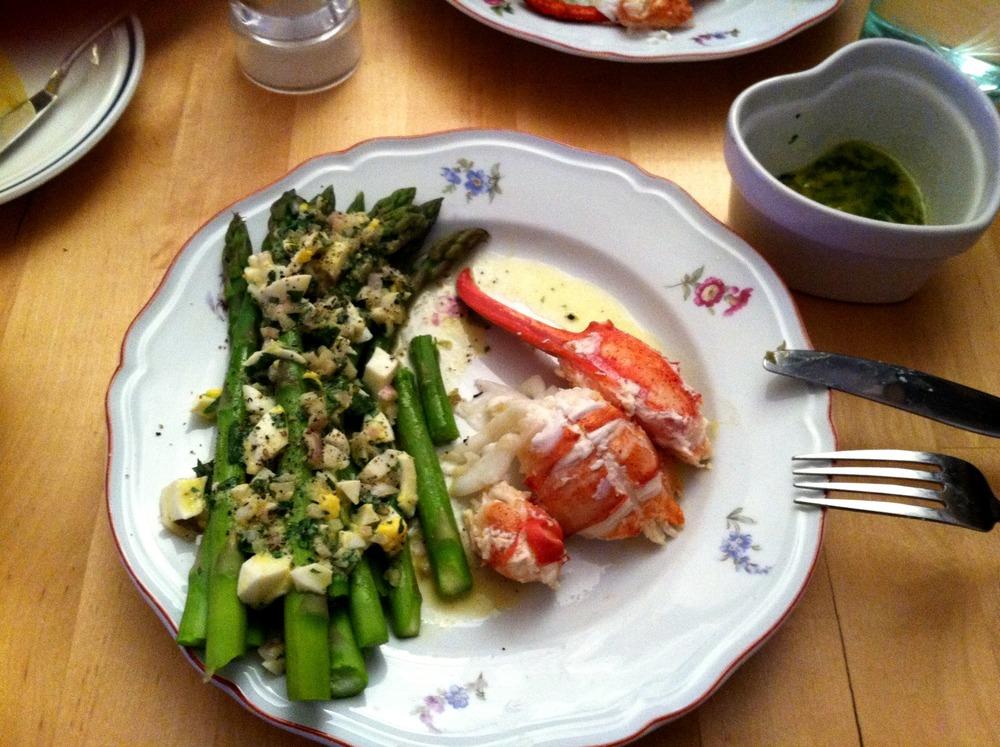 Asparagus Lobster & Gribiche