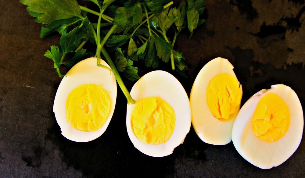 Hard Boiled Eggs Gribiche