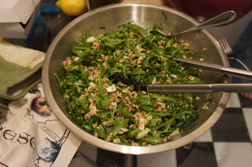 Farro, Arugula, and Fennel Salad