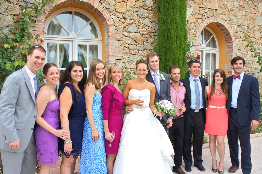 Colgate Group Shot at Kendra & Torbjorn's Wedding