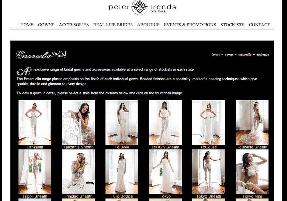 Peter Trends Bridal