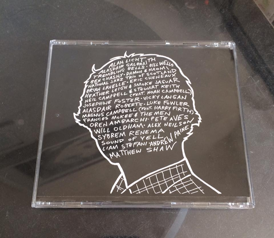 Double CD (edition of one) for Richard Youngs