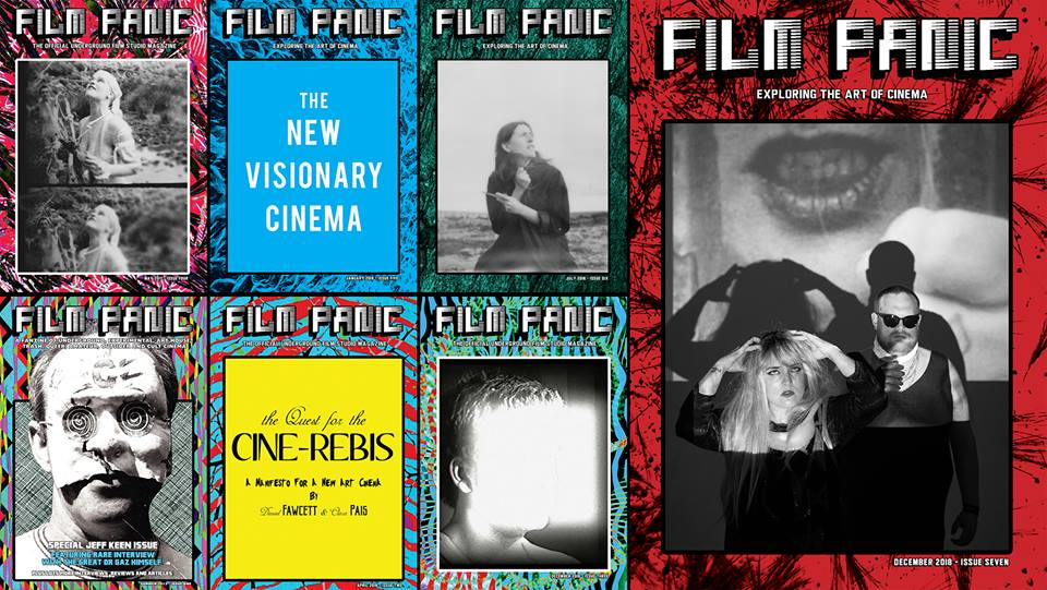 FILM PANIC Magazine is a publication edited by Daniel Fawcett & Clara Pais dedicated to contemporary artist moving image and experimental film featuring interviews, essays, manifestos and diaries.