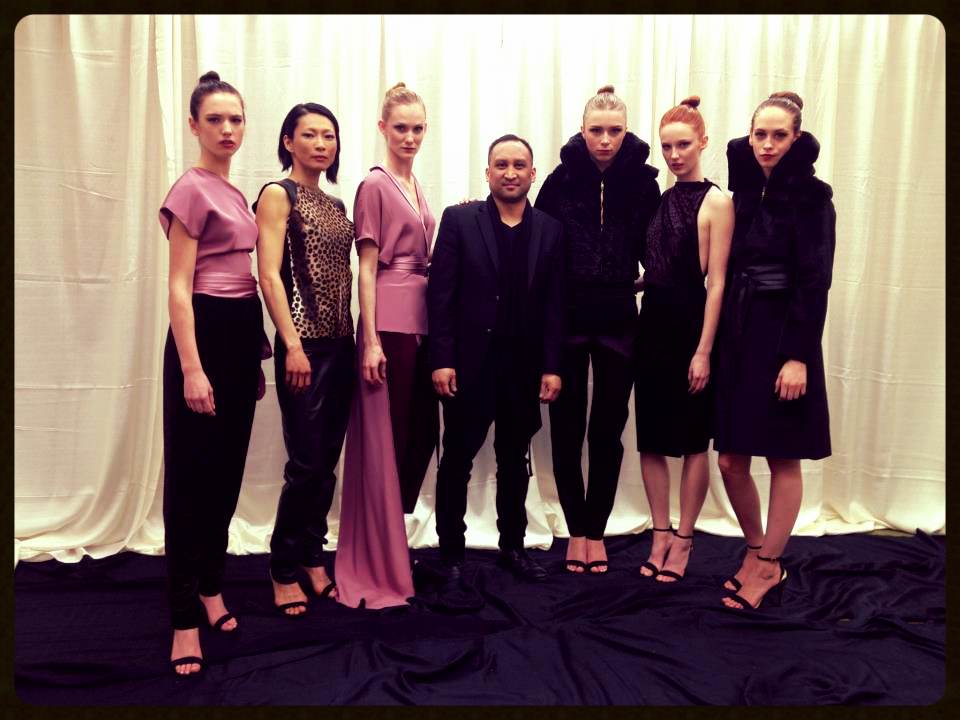 Synnove Vandal, Gail Tsai, Alyssa Davis, me, Samantha Visscher, Desirae Bloomquist, Kayla Washburn all @ SMG Models