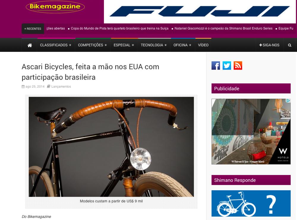 Bike Magazine - August 2014