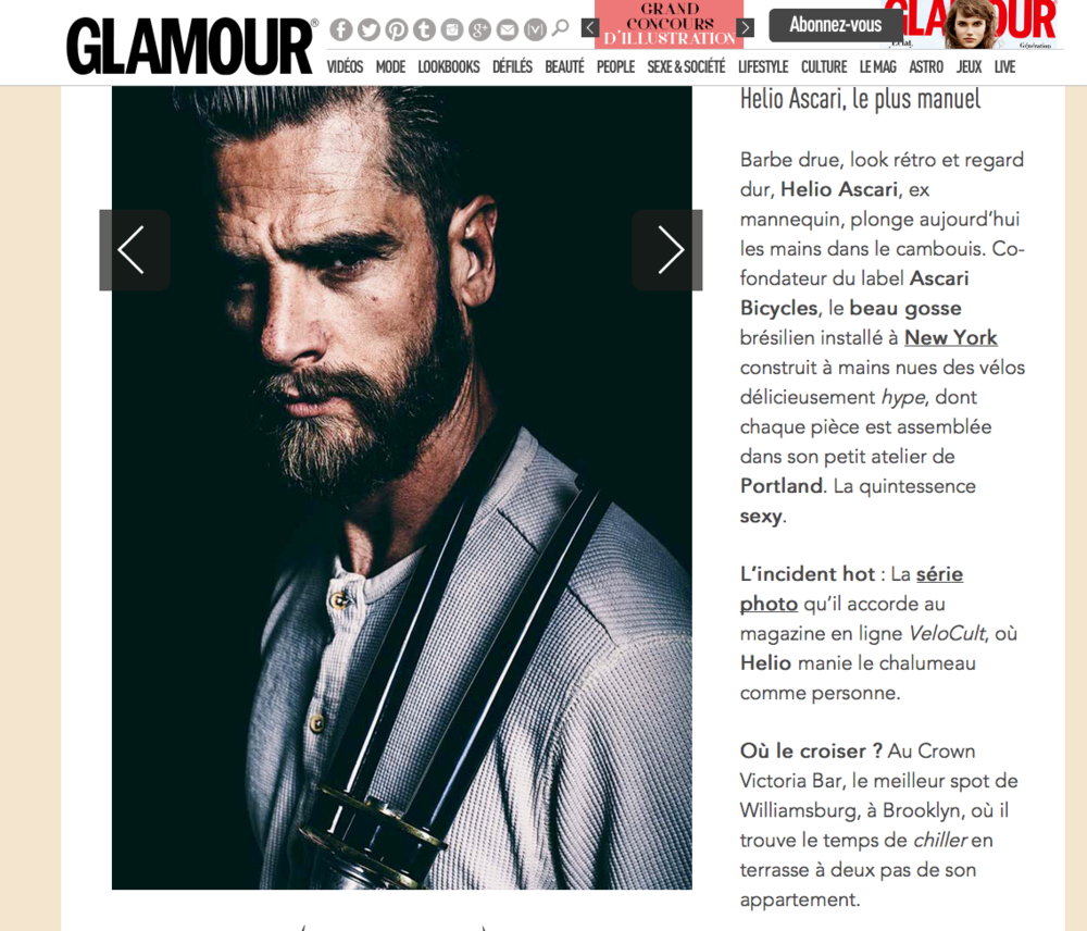 Glamour Paris - November 2014