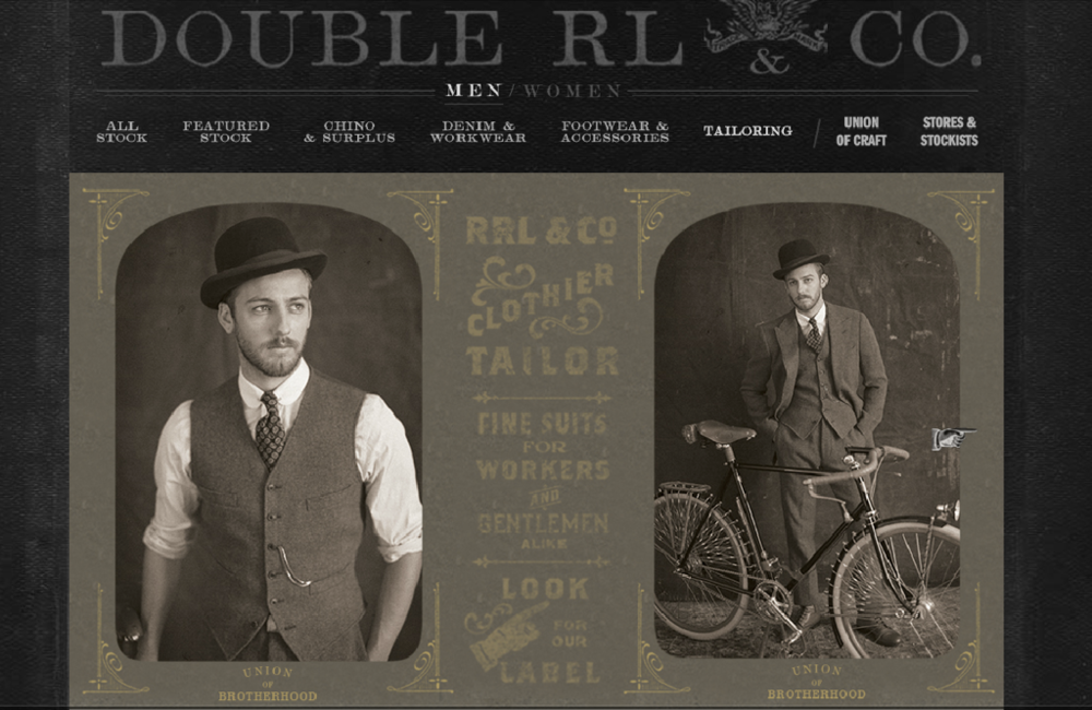 Ralph Lauren RRL Website