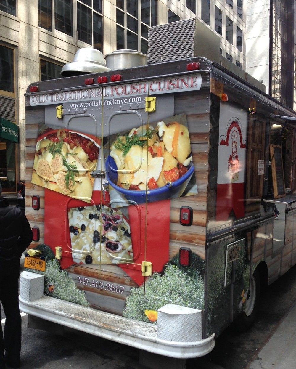 Old traditional polish cuisine food truck old for Authentic polish cuisine