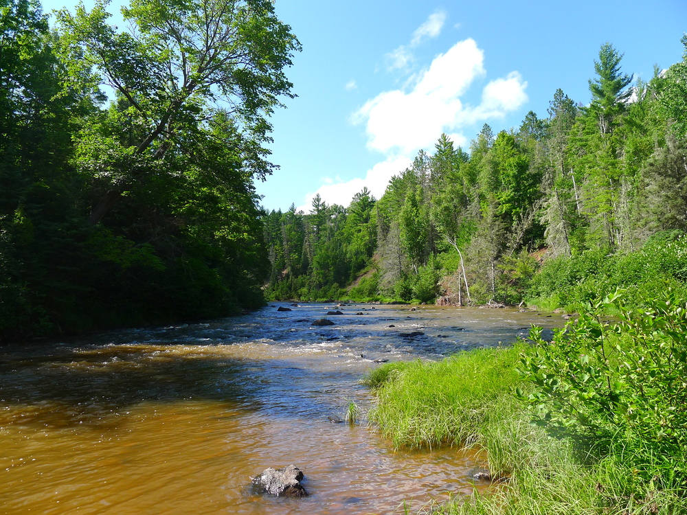 THE ONTONAGON RIVER