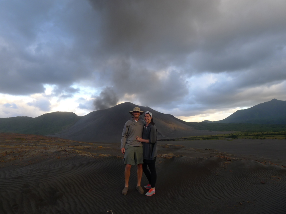 JEFF, ME, AND YASUR VOLCANO.